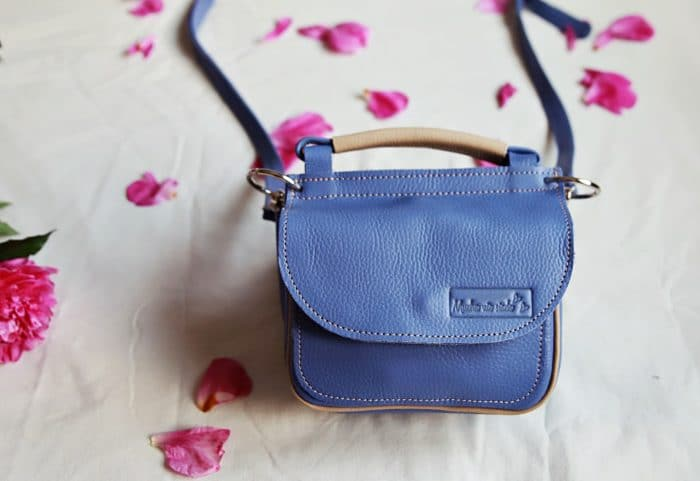 torebka twins pastel blue