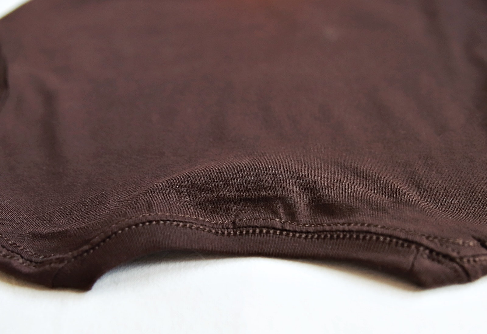 koszulka mucha czekolada tył