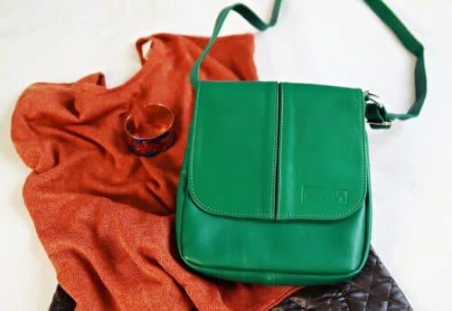 zielona torebka Mary