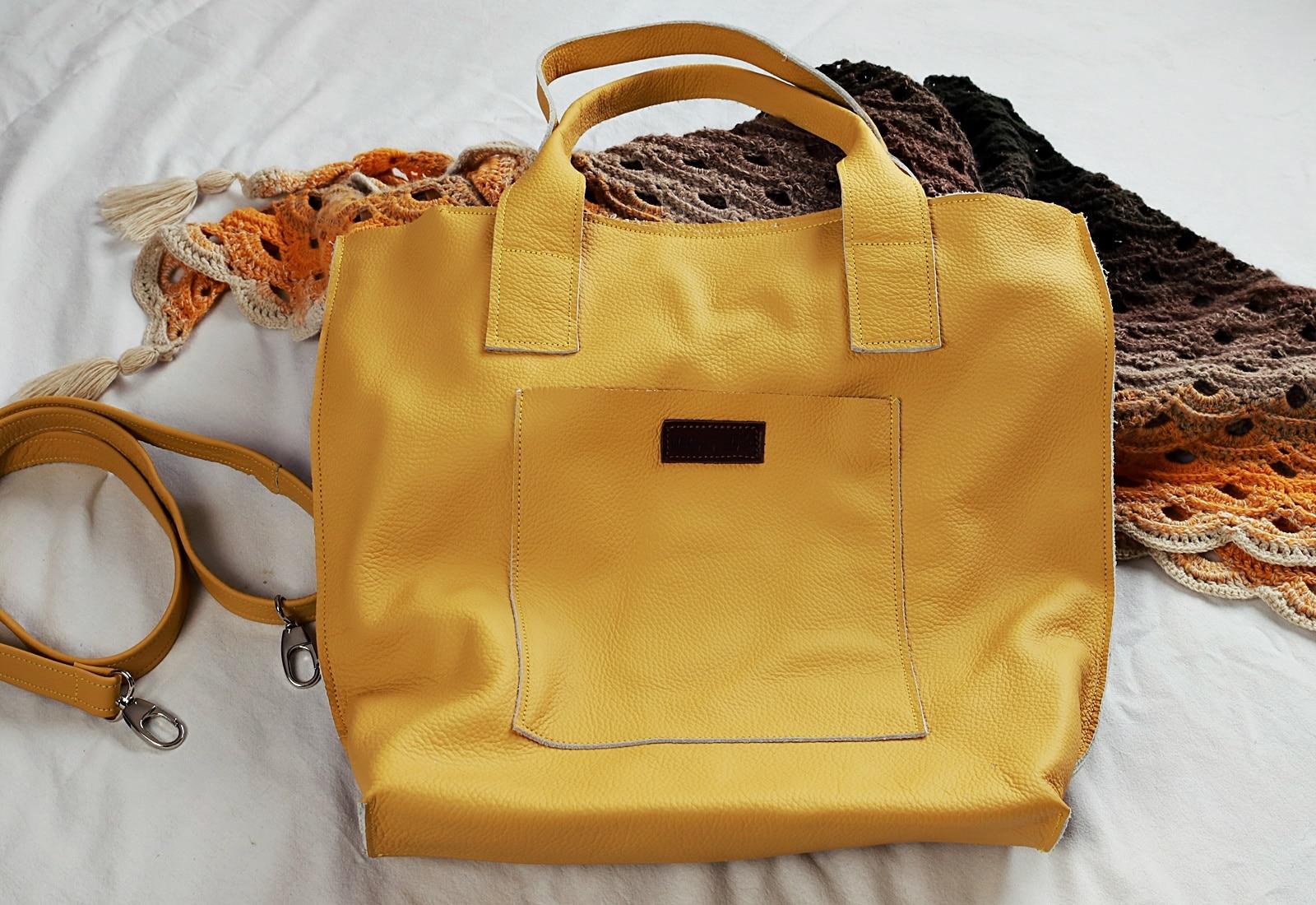 żółta torba Lola