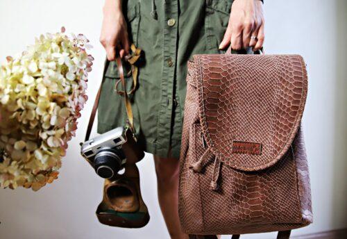 Plecak skórzany Zoya