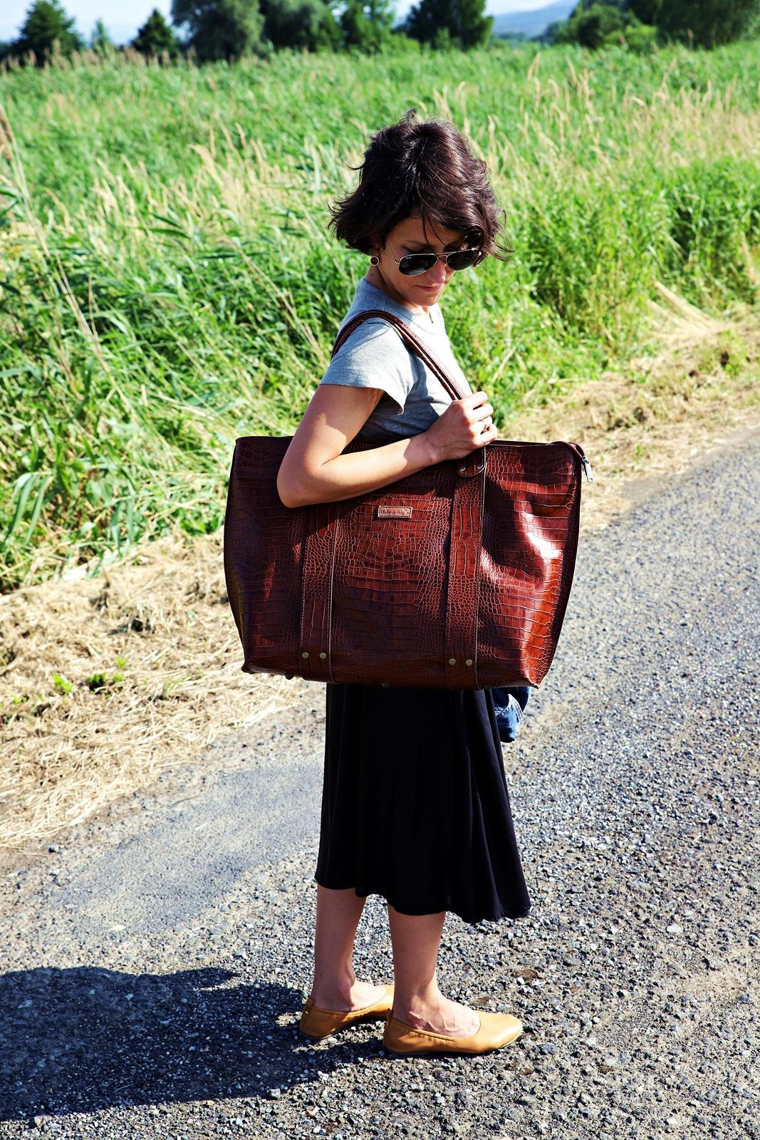 torba skórzana Julia weekendowa